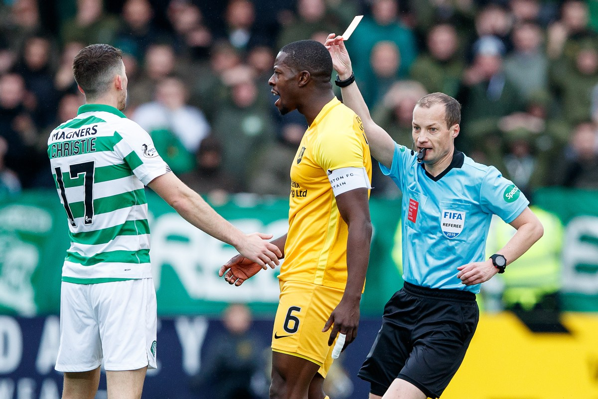 Celtic news: Ryan Christie admits his Livingston red card was a shocker