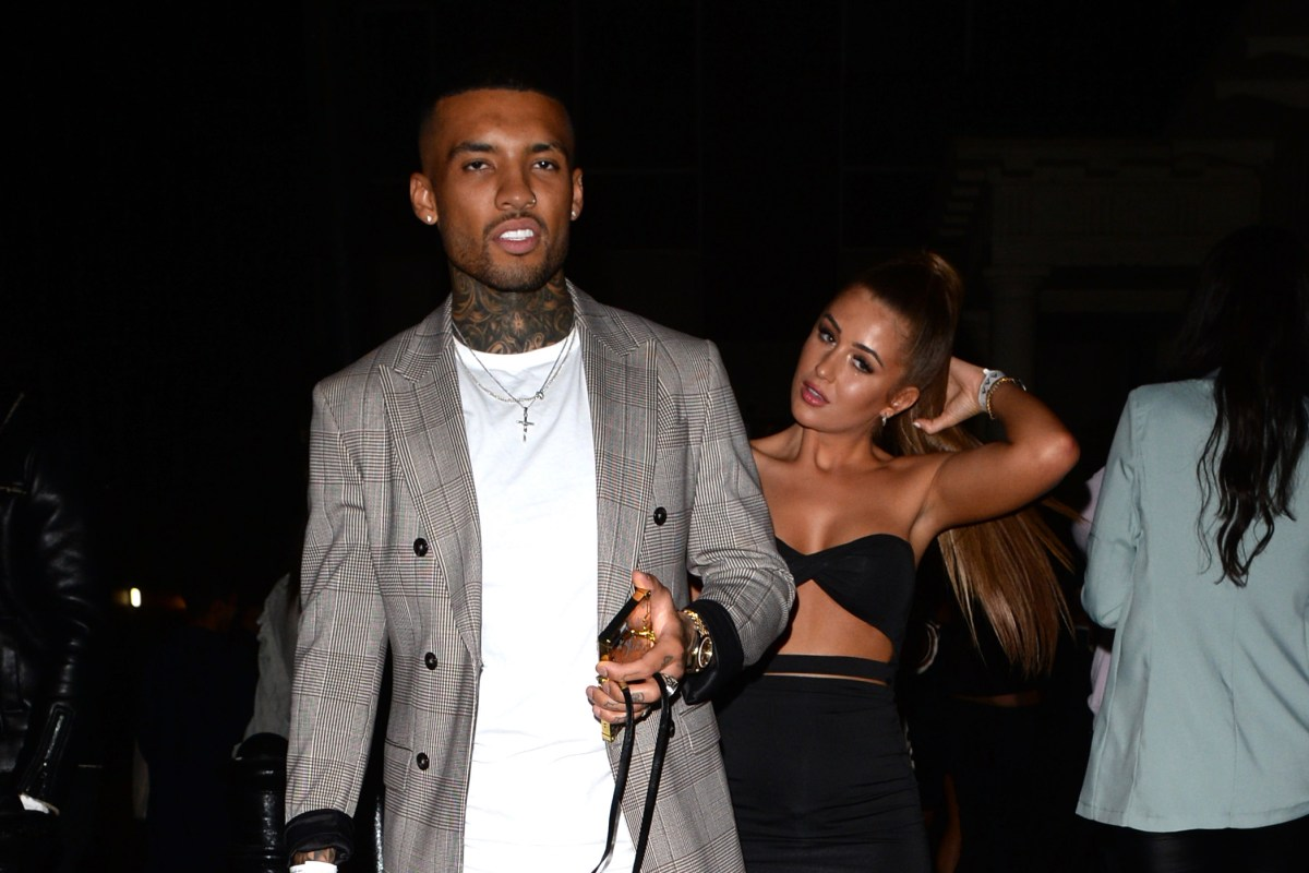 Love Island's Georgia Steel and fiance Callum Izzard party at Amber Gill's Miss Pap launch after shock eng