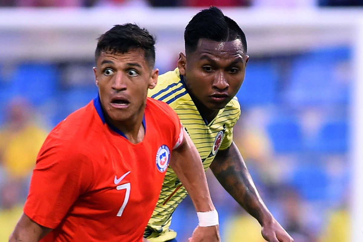 Rangers star Alfredo Morelos returns for Colombia in Chile stalemate