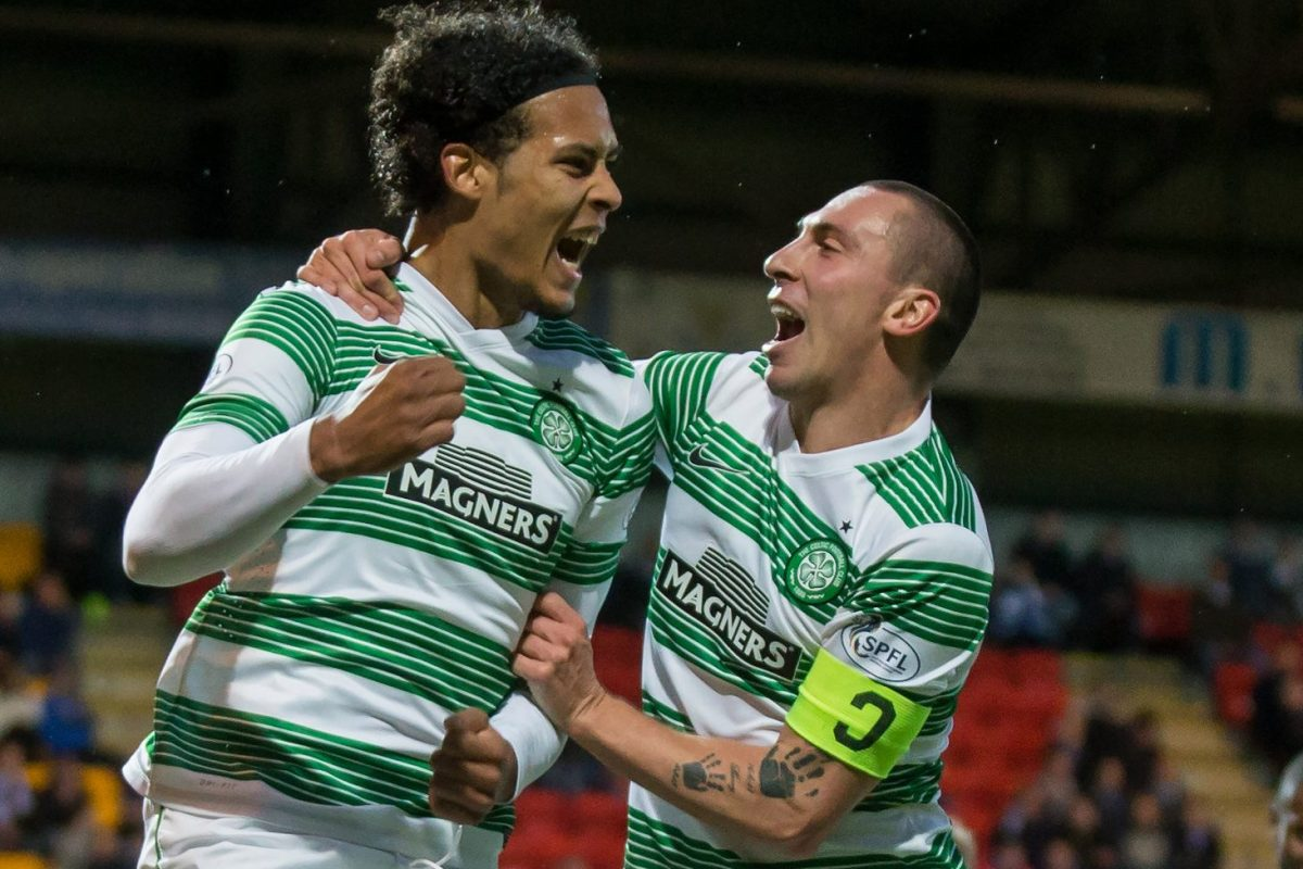 Brown was surprised only Southampton moved for Van Dijk when he left Celtic
