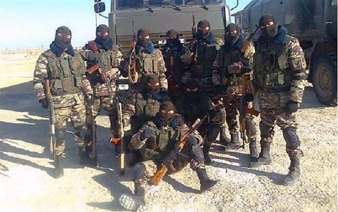 Wagner Group mercenaries