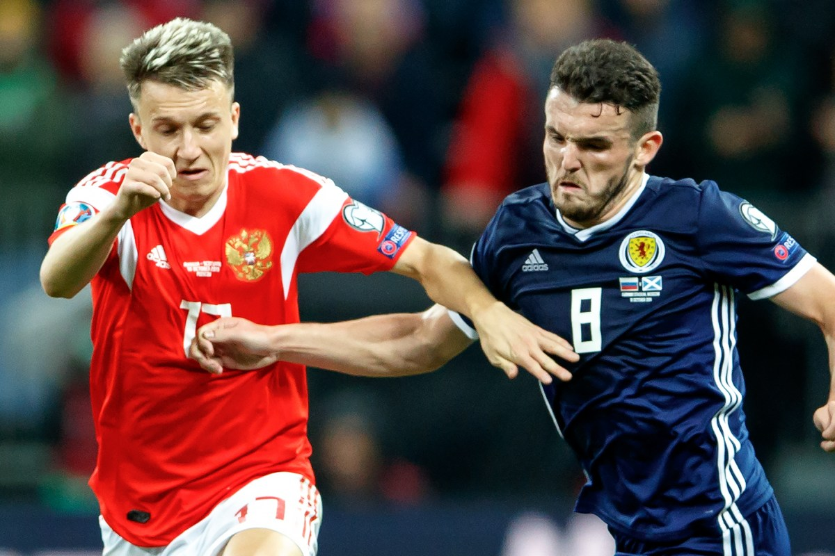 Russia face Euro 2020 expulsion over doping shame as Scotland could take their place