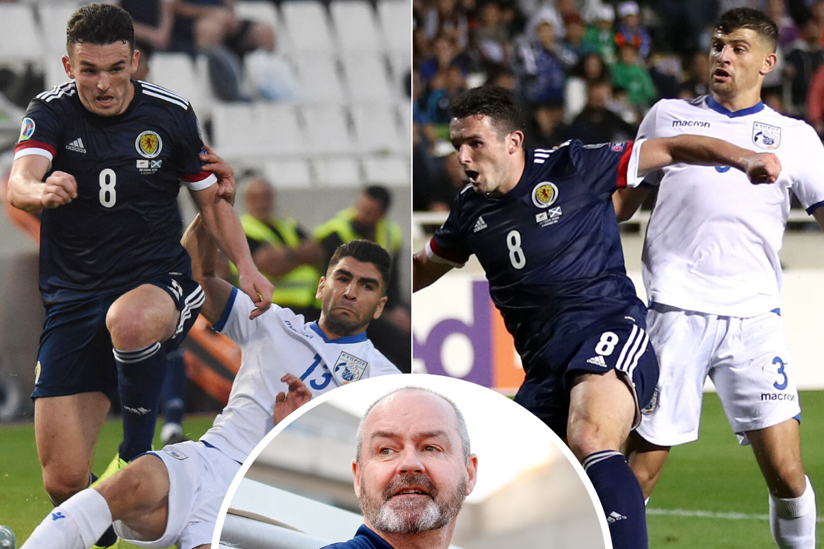 Steve Clarke hopes Aston Villa star John McGinn can lead Scotland's charge to Euro 2020 - The Scottish Sun