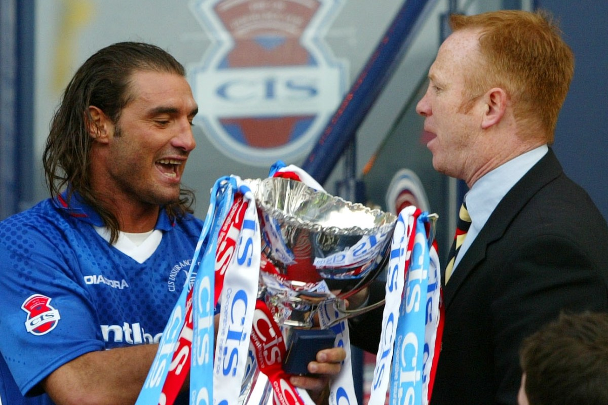 Rangers legend Amoruso admits he told McLeish 'I've no time for this s***' during funny phone call
