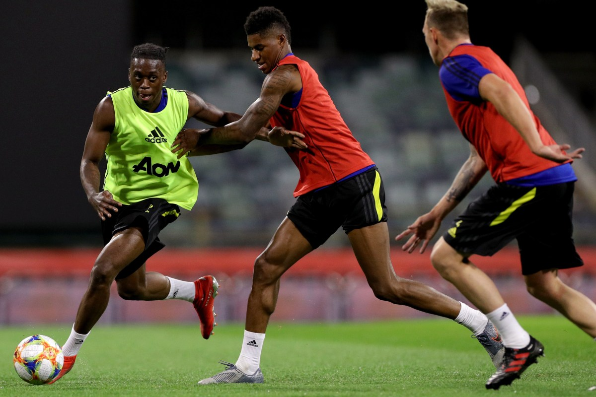 Aaron Wan-Bissaka reveals NO Man Utd team-mates have ever dribbled past him in training living up to 'Spider'