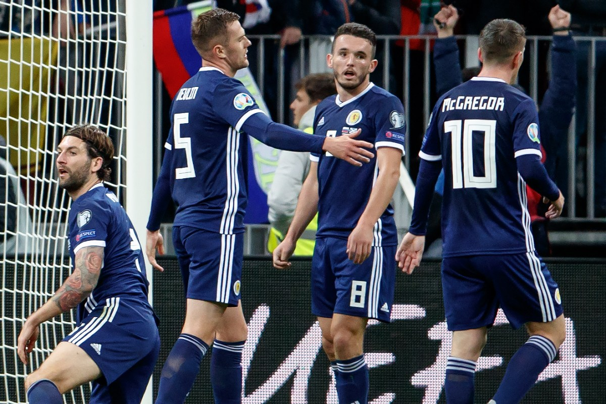 Scotland at Euro 2020 – what Russia doping ban means for Steve Clarke's side