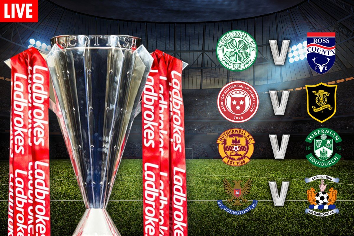 Scottish Premiership LIVE SCORE: Follow the goal updates from today's matches