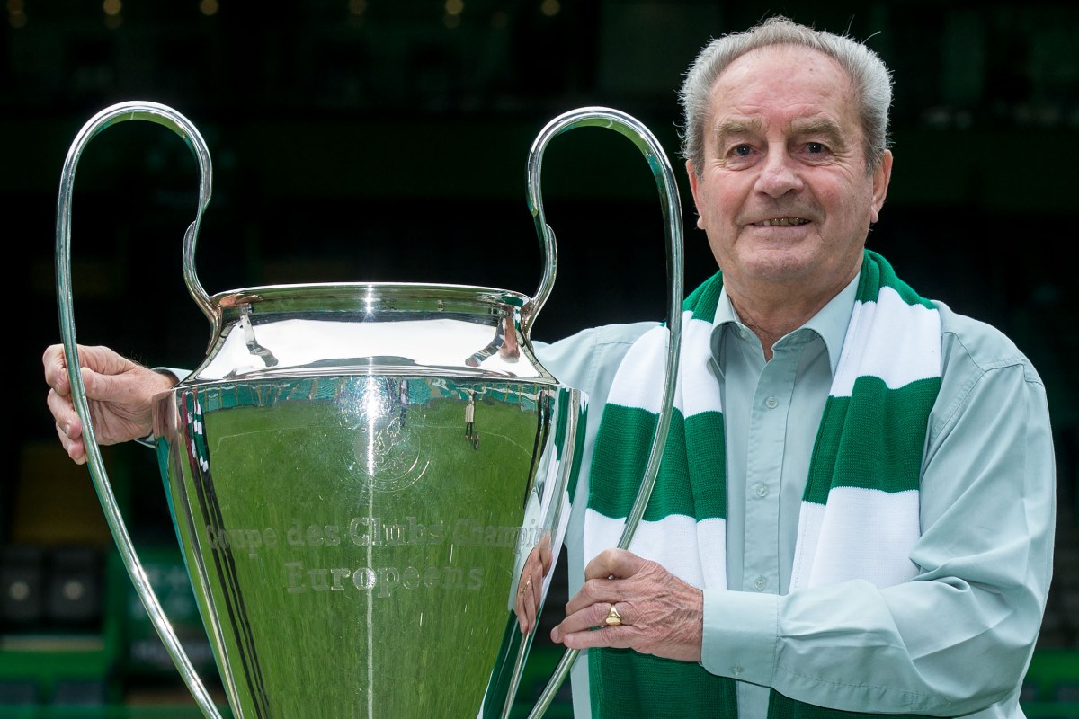 Celtic icon Stevie Chalmers' son opens up on his dad's dementia battle as he backs Billy McNeill Fund