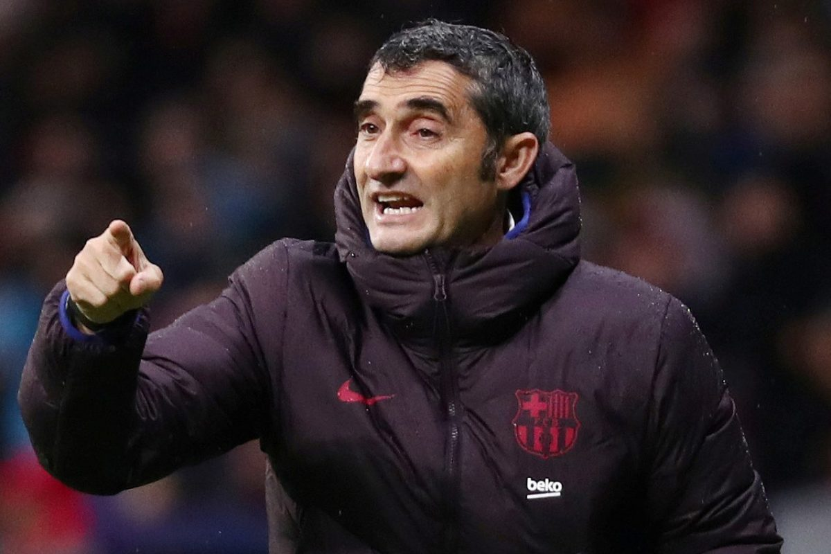 Sacked Barcelona manager Valverde lets club keep his wages for final 18 months of contract in classy gesture