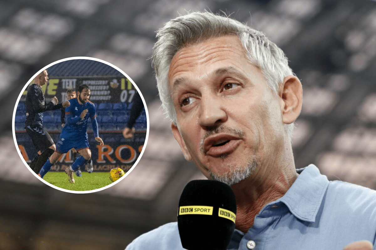 Match of the Day host Lineker backs Inverness striker Keatings over SFA dive row