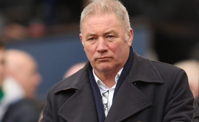 Former Rangers Icon Mccoist Says Football Return