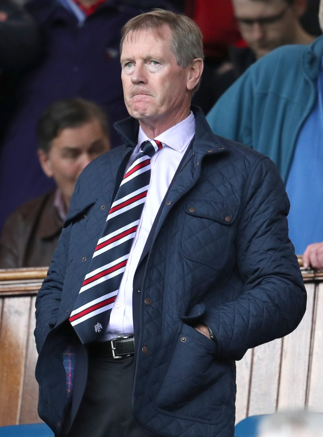 Rangers' outgoing chairman Dave King
