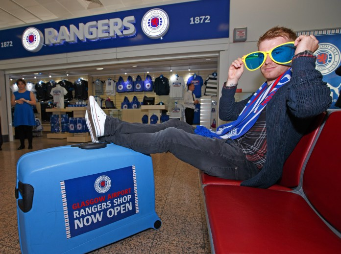 Glasgow Rangers' previous store closed