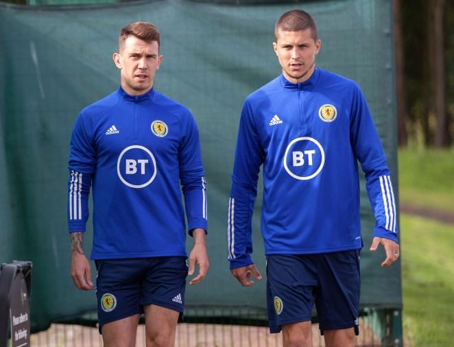 Scotland duo Ryan Jack and Lyndon Dykes