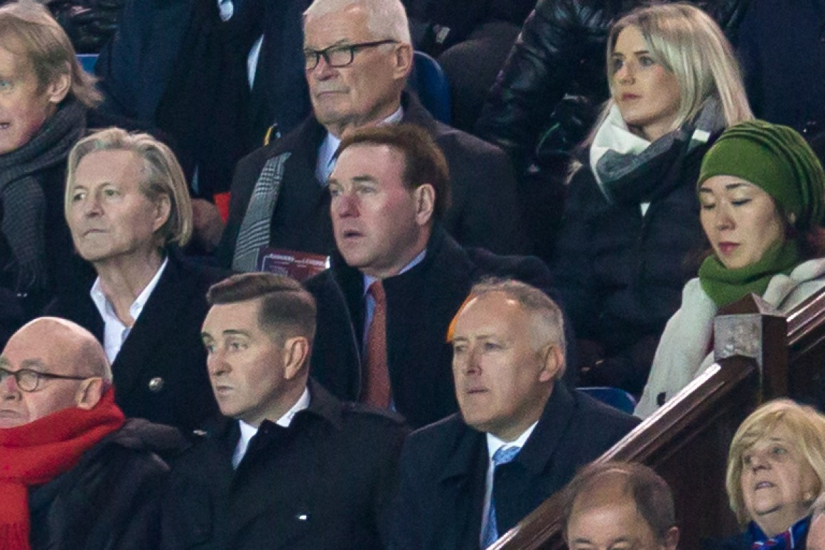 Rangers director Gibson insists he 'feels positive' about silverware potential