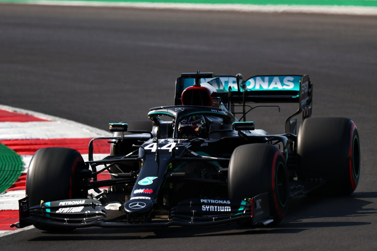 Hamilton pips team-mate Bottas to pole for Portugal GP with dramatic qualifying