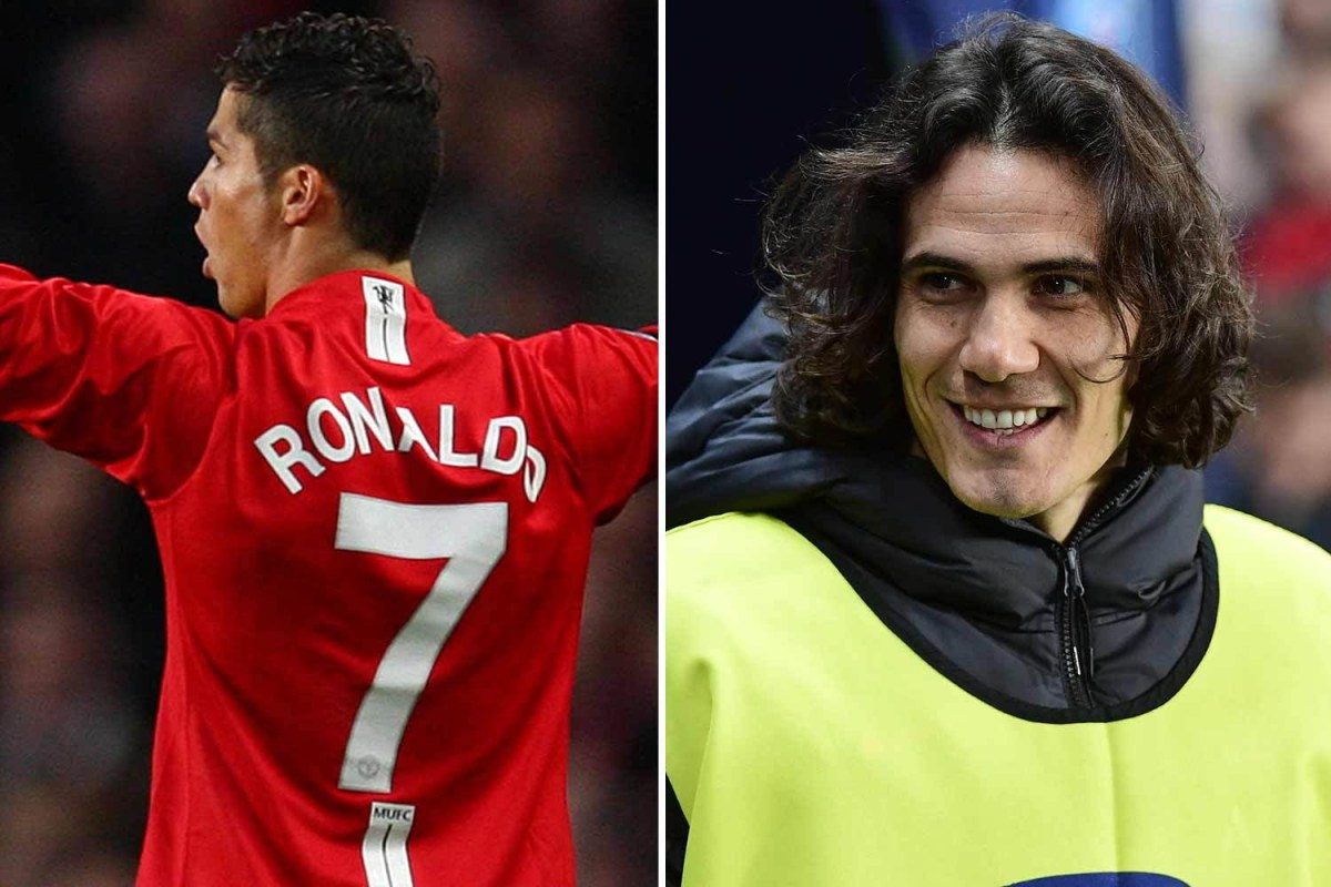 7 shirt again, which david beckham and eric cantona have worn, but new signing will be wary of becoming like angel di maria or alexis sanchez. Edinson Cavani Man Utd shirt number options revealed ...