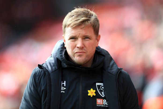 Former Bournemouth boss Eddie Howe is a leading contender for the vacant Celtic job