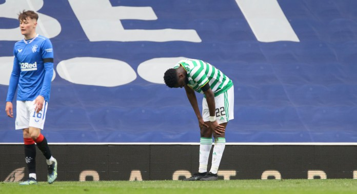 Odsonne Edouard missed a penalty for Celtic