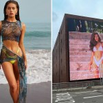 Tamara Francesconi turns up the heat in her latest billboard campaign 💥👩👩💥