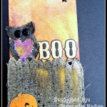 Boo… Did I Scare you?? Mixed Media Tag