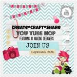 March Create* Craft* Share YouTube Hop
