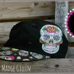DIY Sugar Skull Hat…..