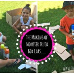 DIY Monster Truck Box Cars