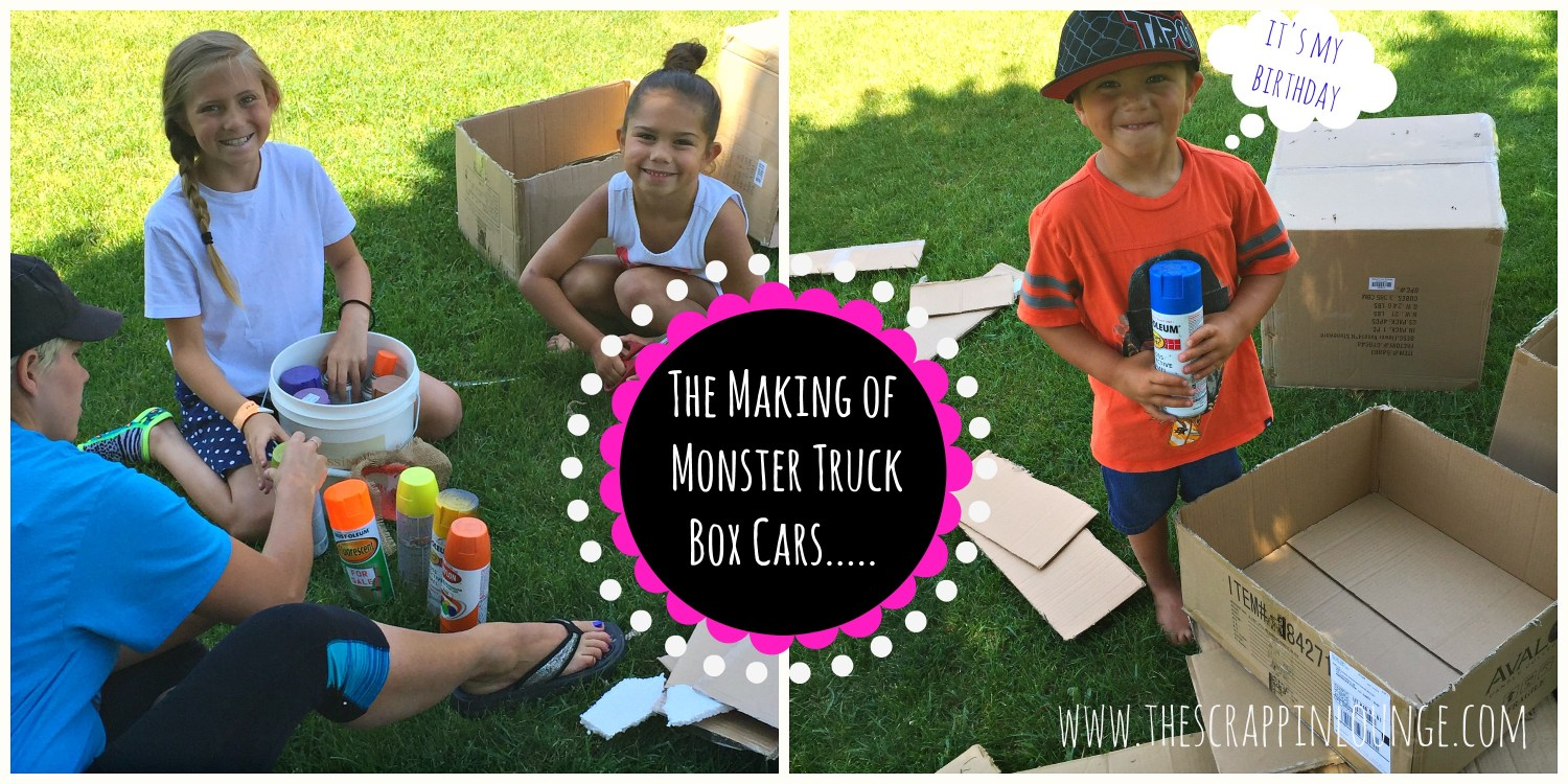 The Making of Monster Truck Box Cars