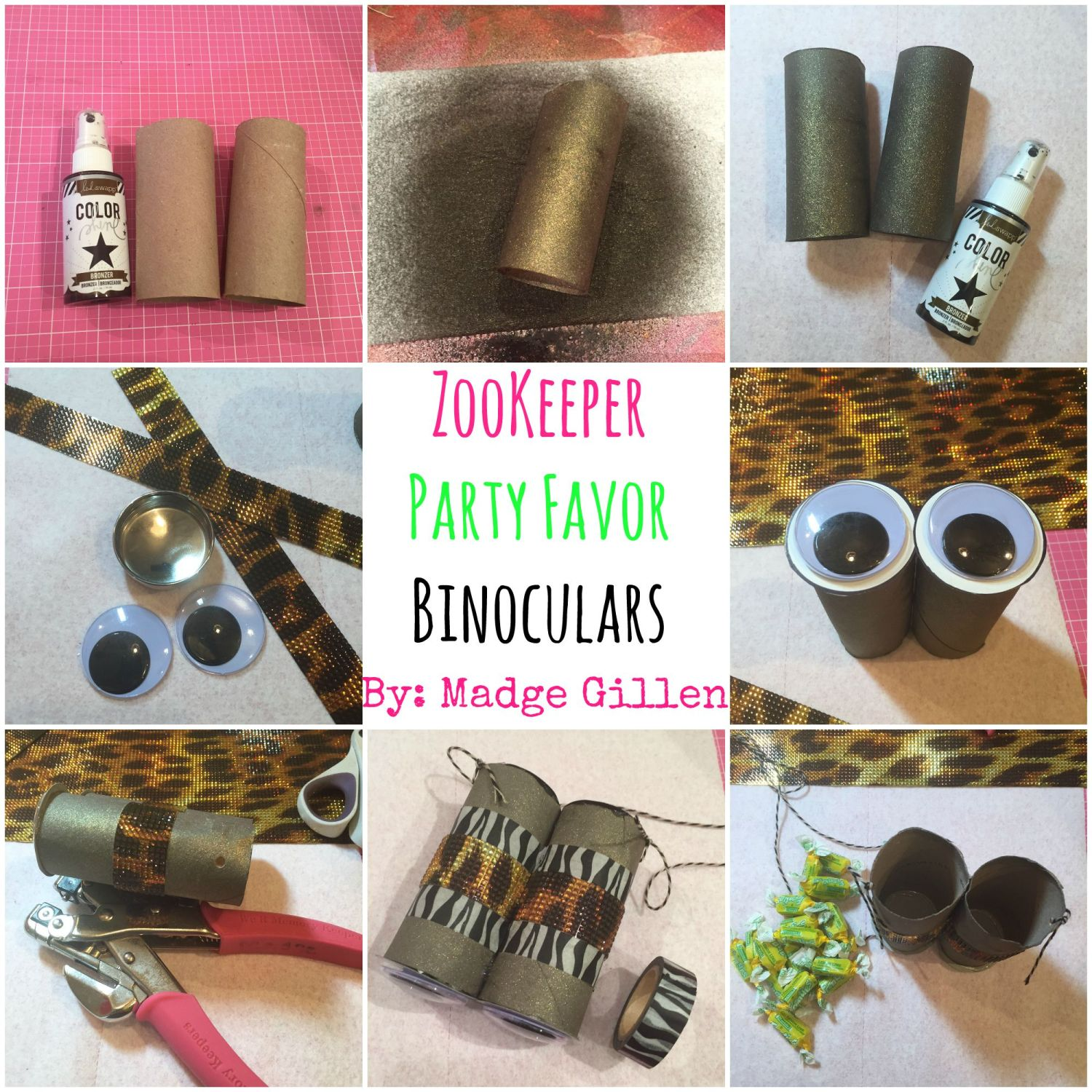 Zookeeper Party Favor Binoculars