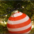DIY Christmas Sock Ornament.madgegillen2