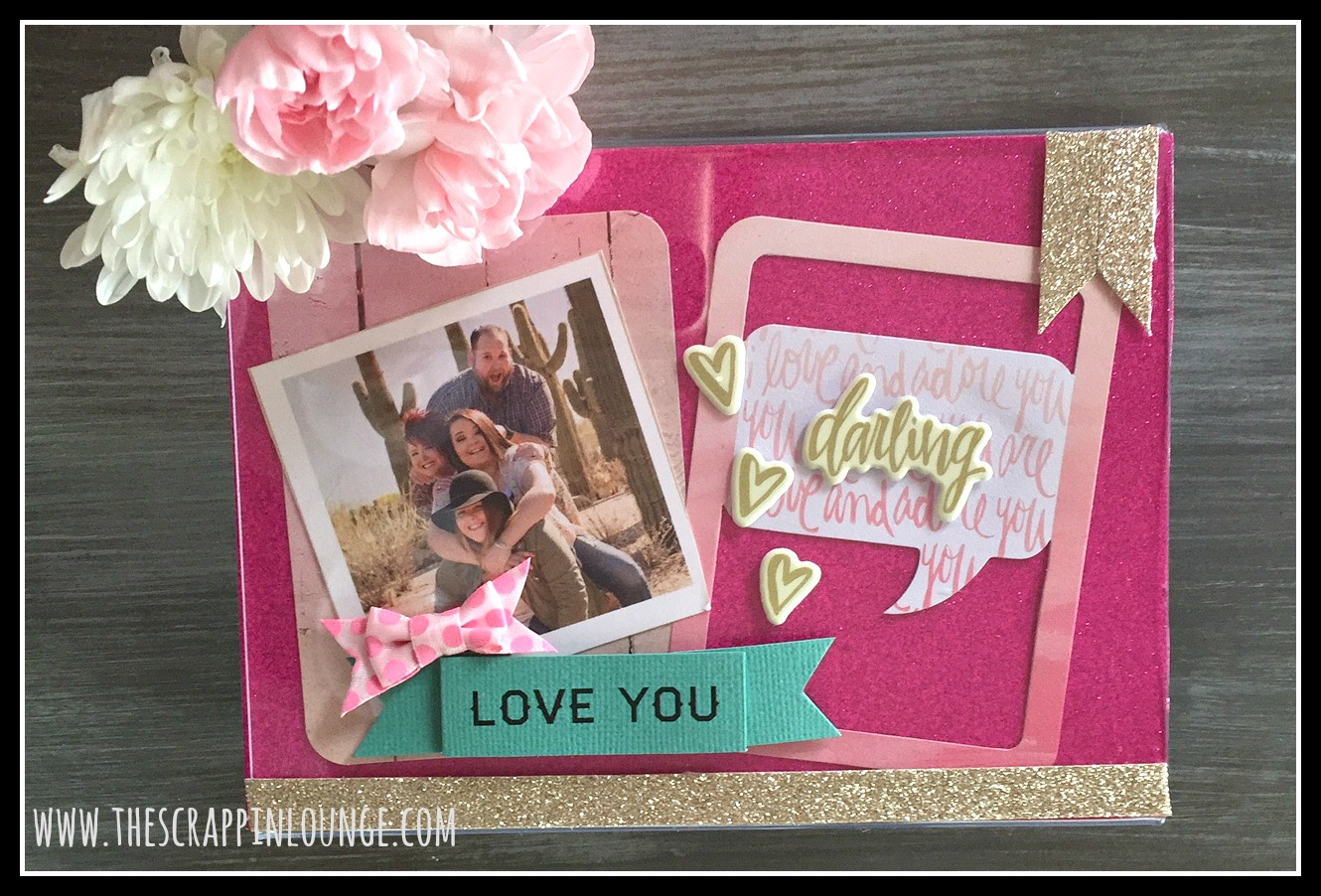 Dollar Store Love Frame