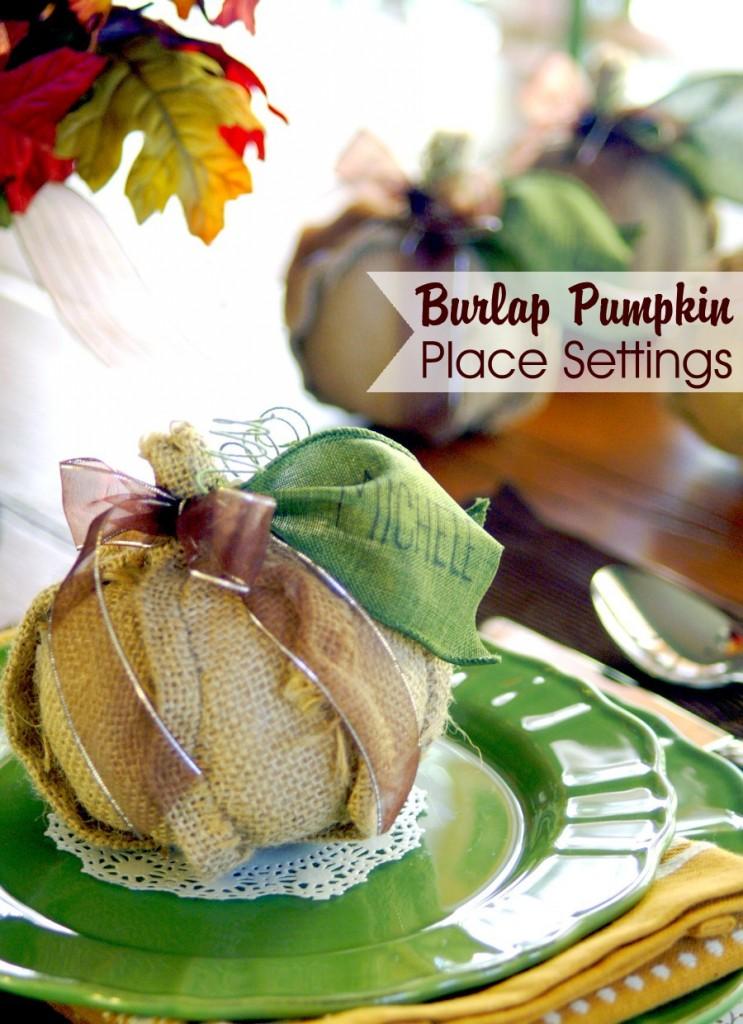 burlap-pumpkin-place-settings