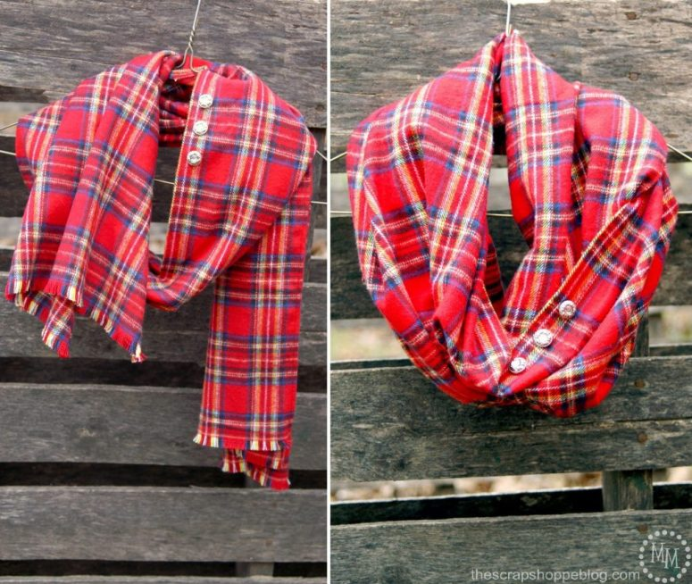 plaid-flannel-infinity-scarf