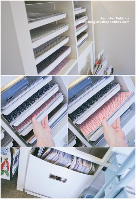 20 Scrapbook Paper Storage Ideas  The Scrap Shoppe