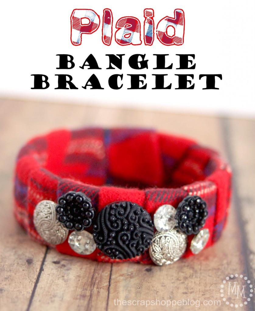 plaid-bangle-bracelet