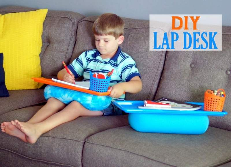 5 Minute DIY Lap Desk