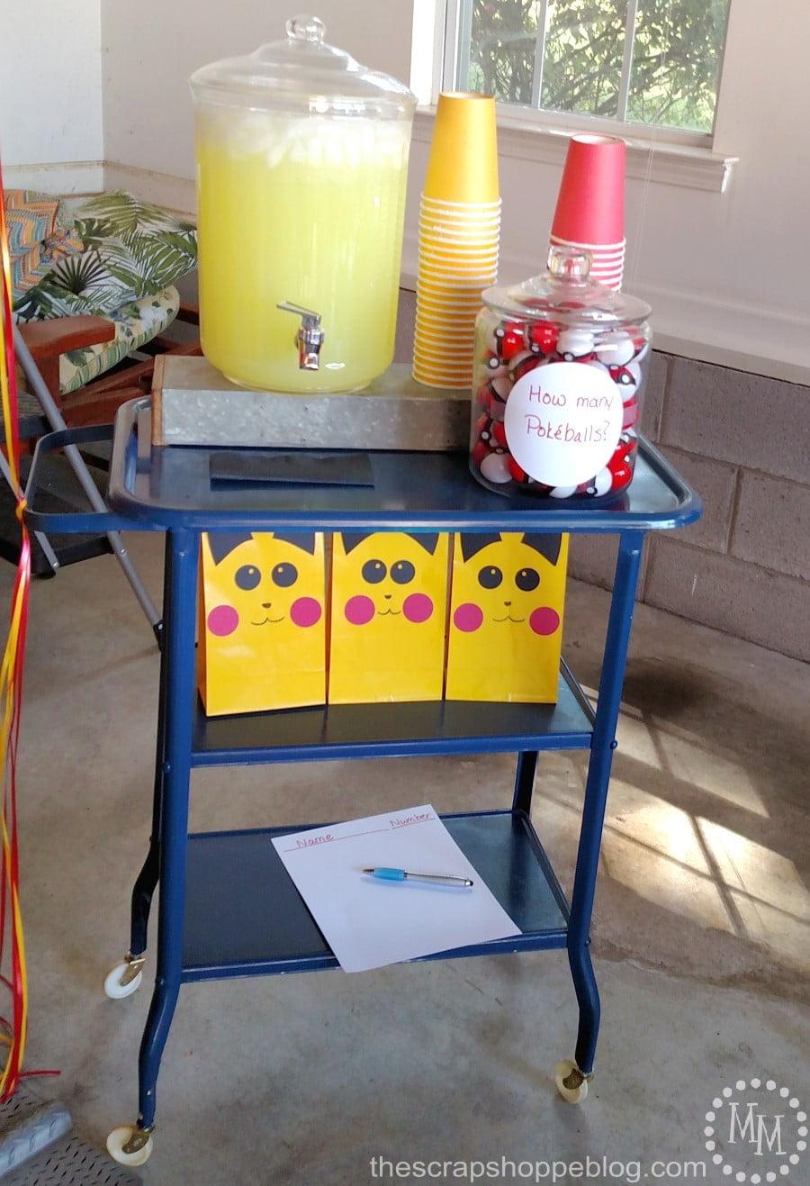 Pokémon Birthday Party The Scrap Shoppe