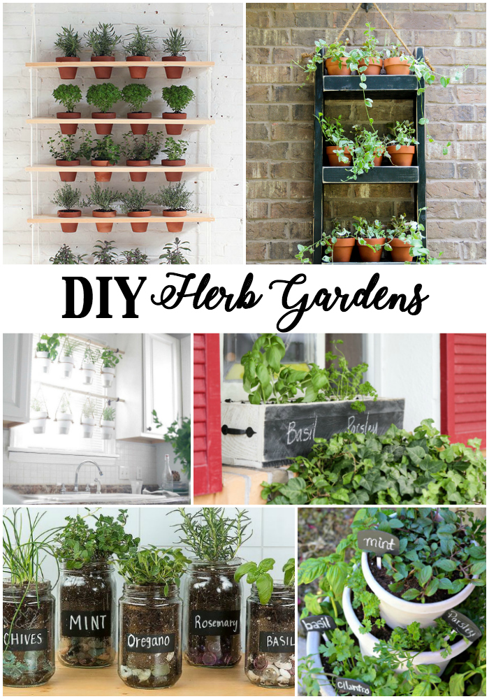 Diy Herb Garden Ideas The Scrap Shoppe