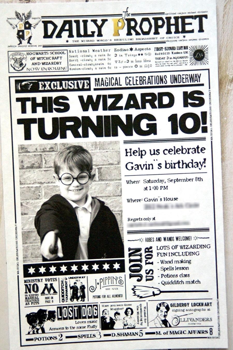 harry potter wand shop free printable