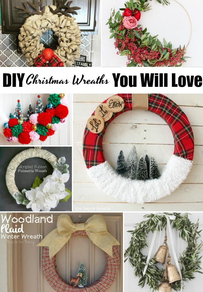 amazing diy christmas wreaths
