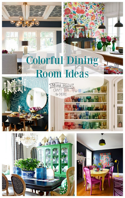 colorful dining rooms the