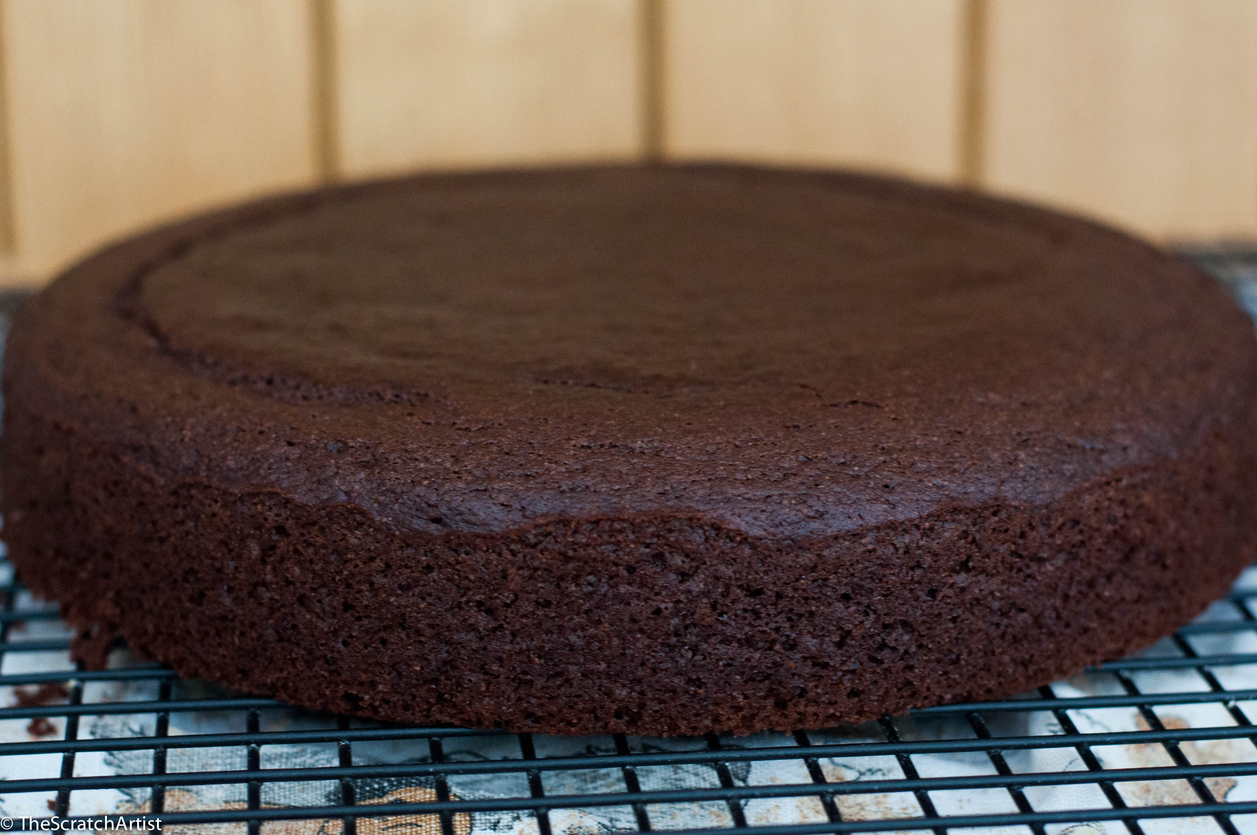 Whole Grain Spelt Flour Chocolate Cake With Date Frosting