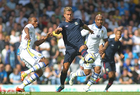 Leeds 3-3 Blackburn Rovers