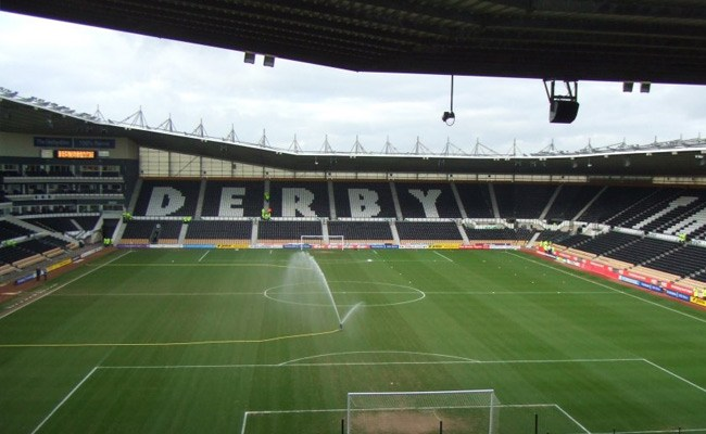 Pride Park, Derby County