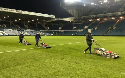 Leeds United grass
