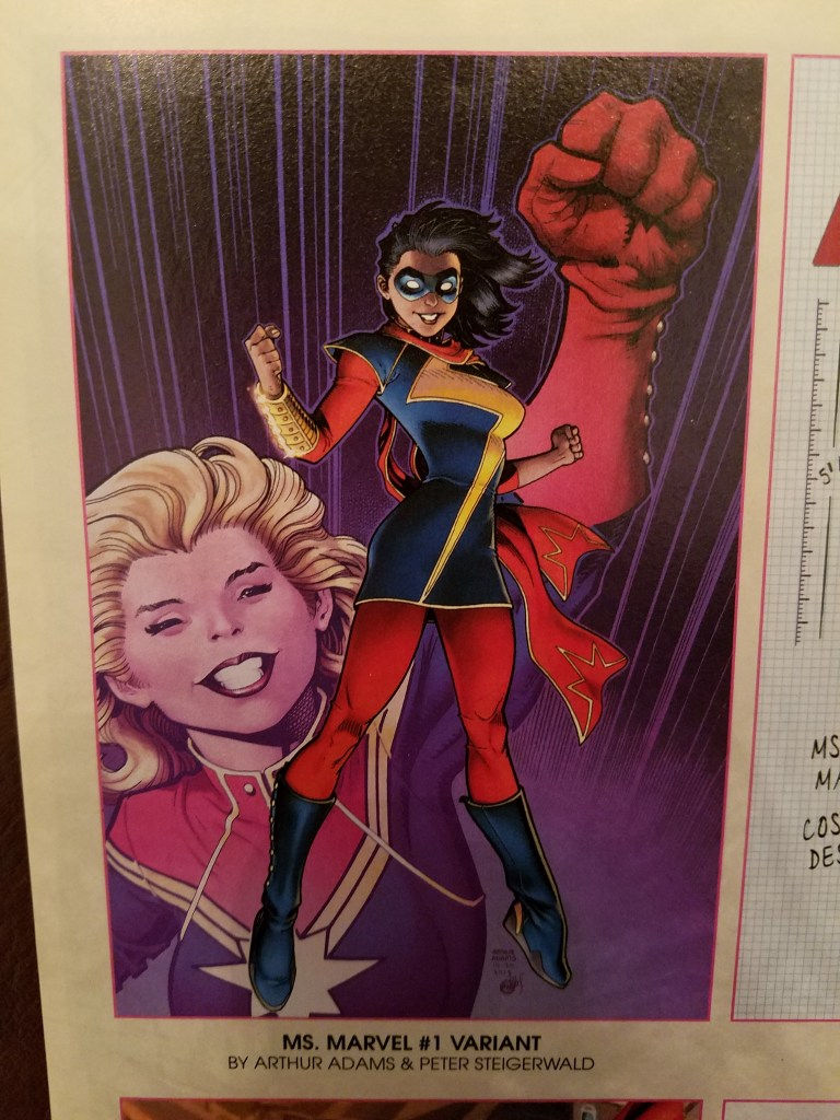 Ms. Marvel Comic