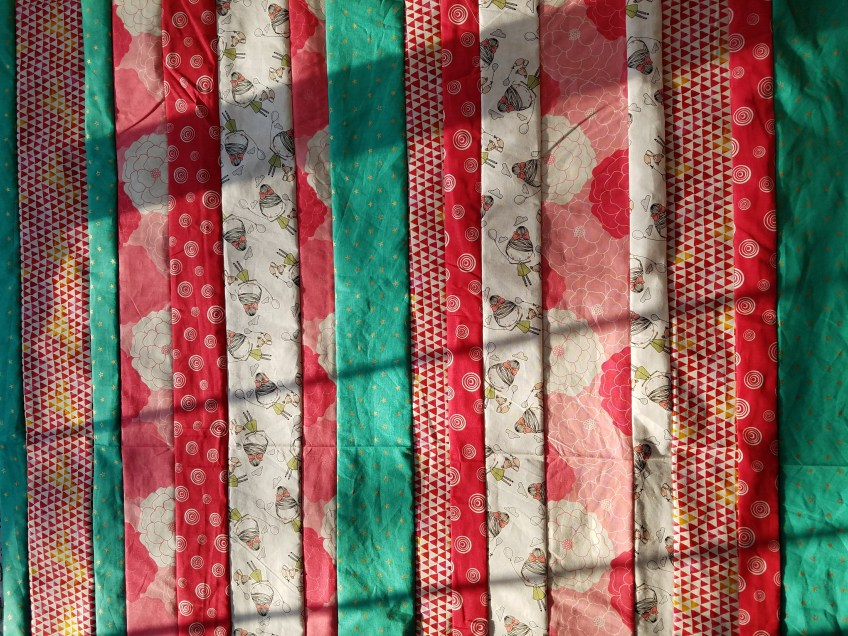Pink and Teal Quilt