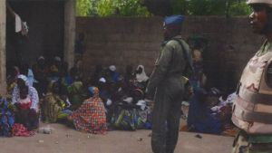 women freed from Boko Haram