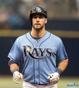 The Scrum Sports - Tampa Bay Rays - Kevin Kiermaier 9